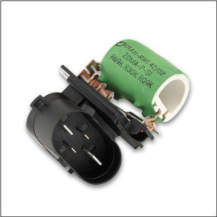 резистор вентилятора охлаждения опель омега