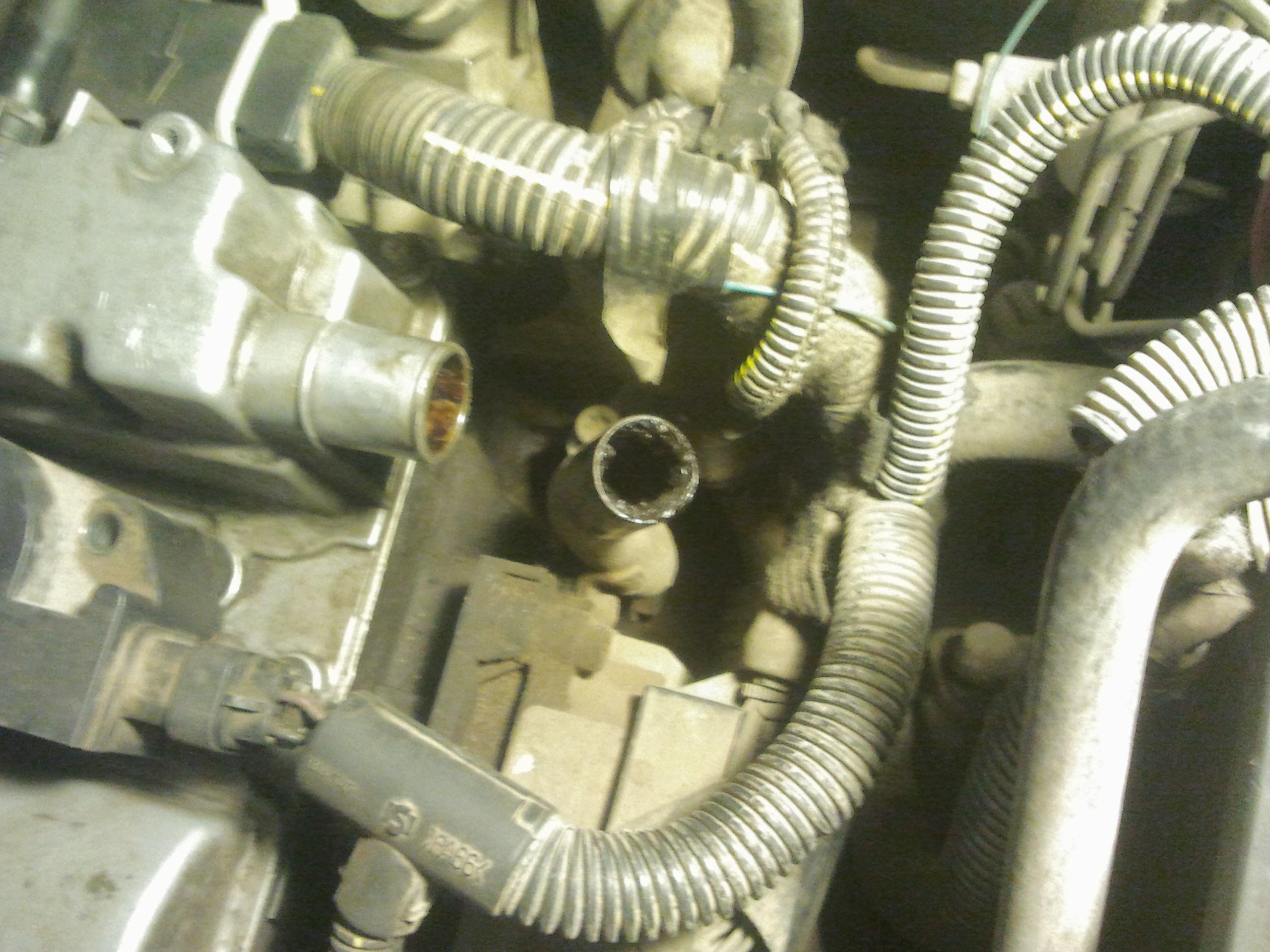 отвод картерных газов opel corsa b